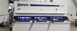 Поставка гидравлических гильотинных ножниц MVD Inan B13-3100 в г. Вологда