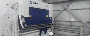 Поставка листогибочного пресса MVD Inan B100x3100 для производства лодок