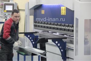 Видео MVD - листогибочный пресс у нашего клиента на производстве