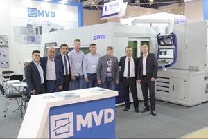 Выставка MVD inan в Москве. Пресс B135-3100 и лазерный комплекс iLaser